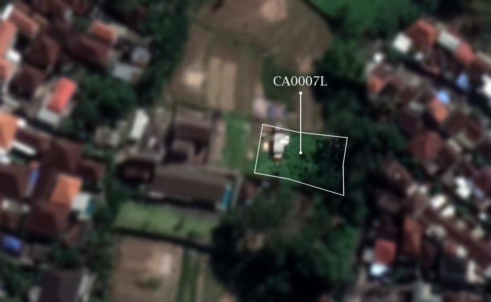 Land for sale in canggu babakan close to echo beach
